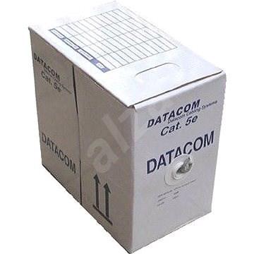 Datacom, drôt, CAT5E, UTP, vonkajší, 305 m/box - Sieťový kábel