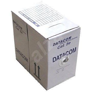 Datacom, licna (lanko), CAT5E, UTP, 305 m/box zelený - Sieťový kábel