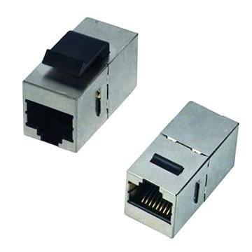 Datacom Panelová spojka STP CAT6  2× RJ45 (8p8c) priama - Káblová spojka
