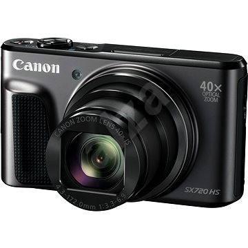 Canon PowerShot SX720 HS čierny - Digitálny fotoaparát