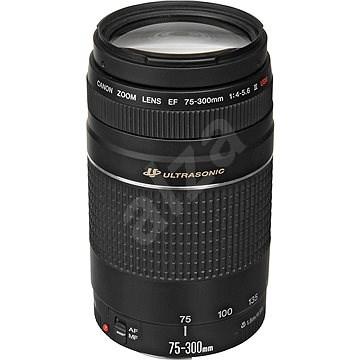 Canon EF 75-300mm F4.0 - 5.6 III USM Zoom - Objektív