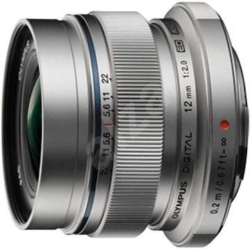 M.ZUIKO DIGITAL ED 12 mm 1: 2.0 silver - Objektív