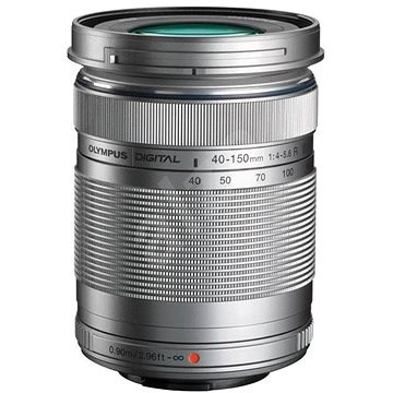 M.ZUIKO DIGITAL ED 40–150 mm f/4,0–5,6 R silver - Objektív