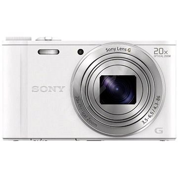 Sony CyberShot DSC-WX350 biely - Digitálny fotoaparát