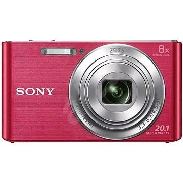 Sony CyberShot DSC-W830 ružový - Digitálny fotoaparát