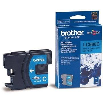 Brother LC-980C azúrová - Cartridge