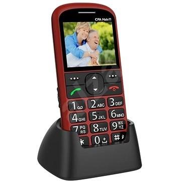 CPA Halo 11 Senior červený - Mobilný telefón