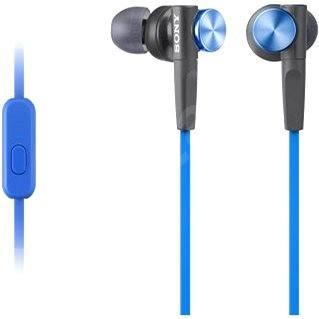 Sony MDR-XB50AP modré - Slúchadlá