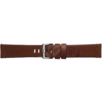 Galaxy Watch Braloba strap Classic Leather – Essex Hnedý - Remienok