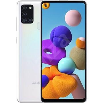 Samsung Galaxy A21s 64 GB biela - Mobilný telefón