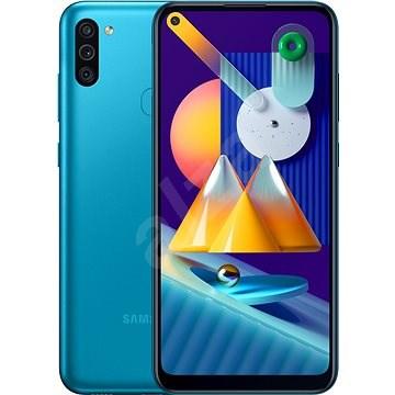 Samsung Galaxy M11 modrý - Mobilný telefón