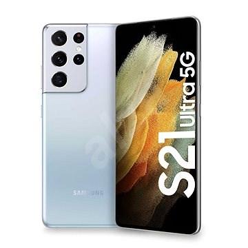 Samsung Galaxy S21 Ultra 5G 256 GB strieborný - Mobilný telefón