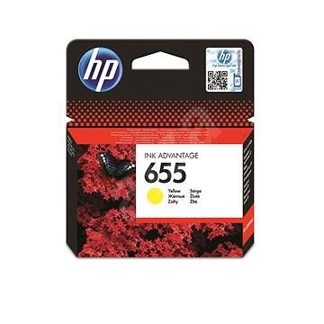 HP CZ112AE č. 655 žltá - Cartridge