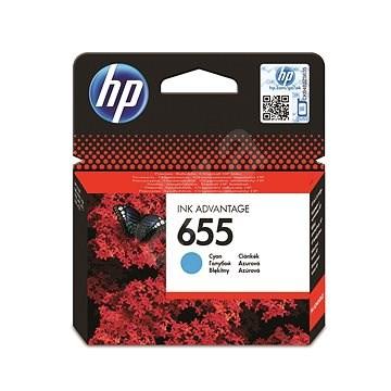 HP CZ110AE č. 655 azúrová - Cartridge