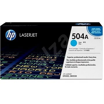 HP CE251A modrý - Toner