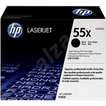 HP CE255X č. 55X čierny - Toner