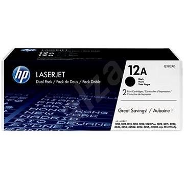 HP Q2612AD č. 12A Dual Pack čierny 2ks - Toner