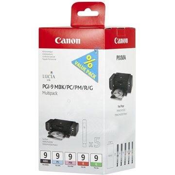Canon PGI-9 MBK/PC/PM/R/G MultiPack - Cartridge