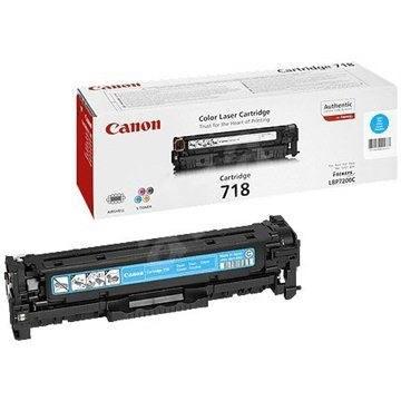 Canon CRG-718C azúrový - Toner