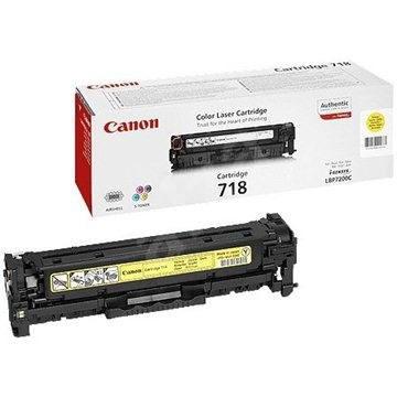 Canon CRG-718Y žltý - Toner