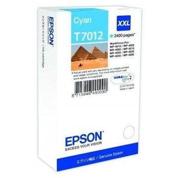 Epson T7012 azúrová XXL - Cartridge
