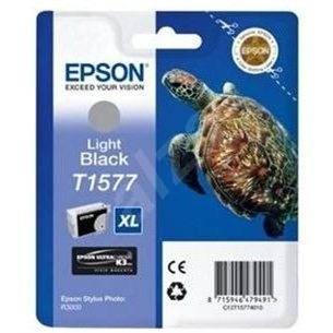 Epson T1577 svetlá čierna - Cartridge