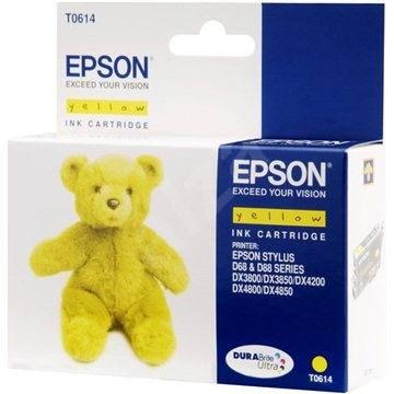 Epson T0614 žltá - Cartridge