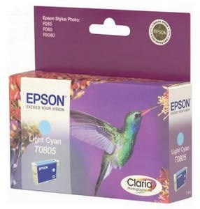 Epson T0805 svetlo azúrová - Cartridge