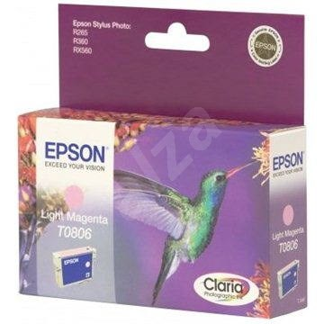 Epson T0806 svetlá purpurová - Cartridge