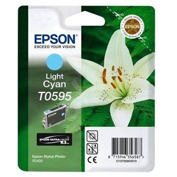 Epson T0595 svetlá azúrová - Cartridge