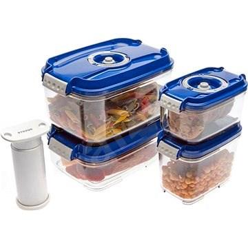 STATUS 5-dielna súprava vákuových boxov Blue - Vákuovačka