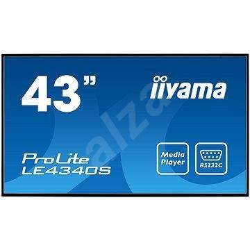 """43"""" iiyama ProLite LE4340S-B1 - Veľkoformátový displej"""