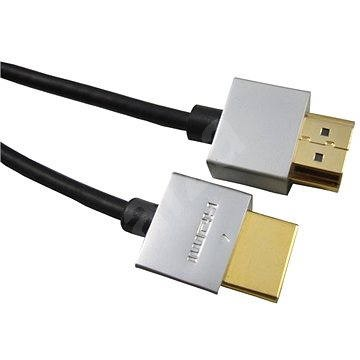 PremiumCord Slim HDMI prepojovací 1.5m - Video kábel