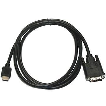 ROLINE DVI - HDMI prepojovací, tienený, 10m - Video kábel