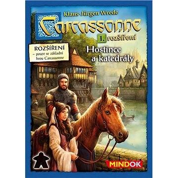 Carcassonne - Hostince a katedrály - 1. rozšírenie - Rozšírenie spoločenskej hry