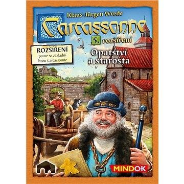 Carcassonne - Opátstvo a starosta 5. rozšírenie - Rozšírenie spoločenskej hry