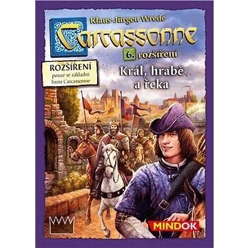 Carcassonne – Kráľ, gróf a rieka - 6. rozšírenie - Rozšírenie spoločenskej hry