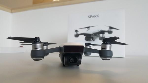 7f0e68a20 ... DJI Spark dron kvadrokoptéra ovládanie gestami