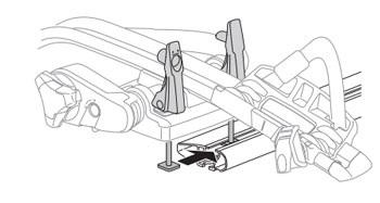 Montáž nosiča pomocou T-adaptéra